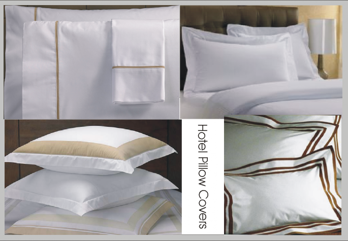 Hotel Pillow Covers