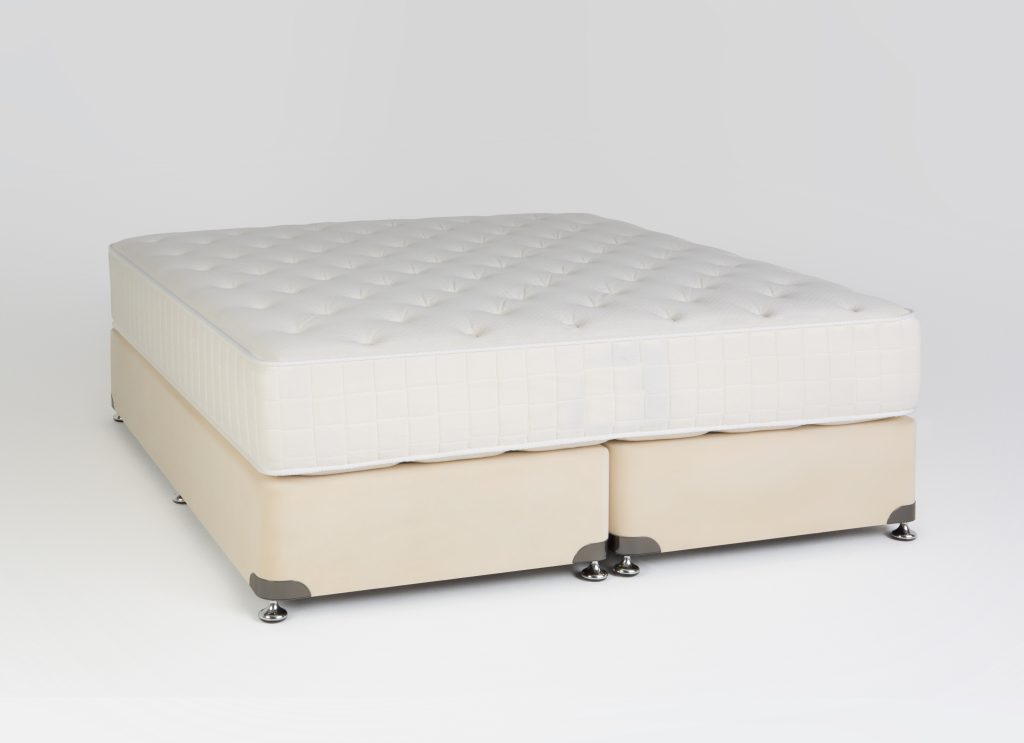 Two Sided Spring Mattress with LATEX Foam Sheet
